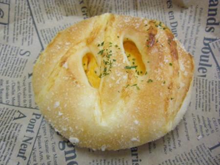 ずっしりたまごパン